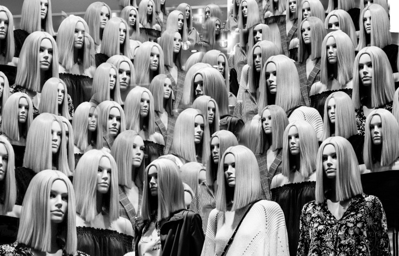 fotografía consumo espejo frivolidad
